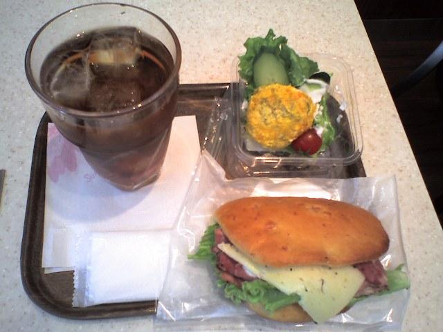 浜松町 産業貿易会館前のカフェ 450$B1_